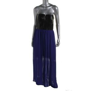 Adrianna Papell Purple and black dress